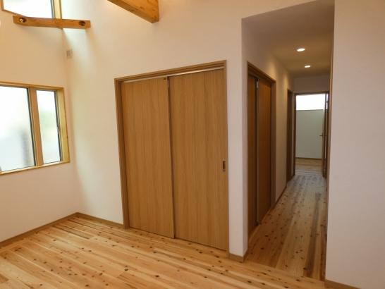 和室の戸を閉めるとプラベート室が出来ます