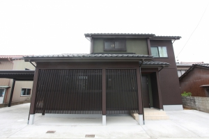 中庭で癒される和モダンの家 | 小松市 注文住宅