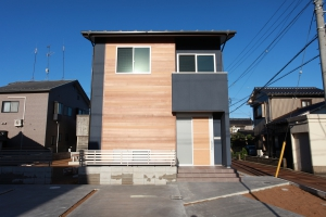 シンプルなモダンコートハウス | 新築一戸建て 建築事例
