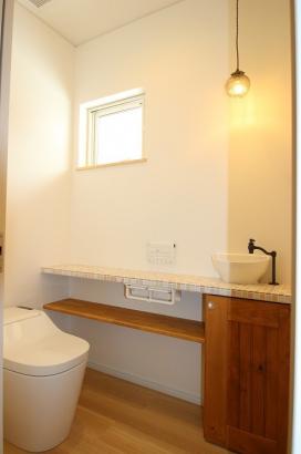 造作手洗い トイレ