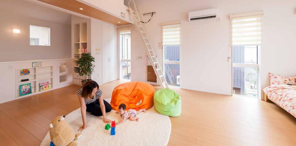 子どもが安心して成長できる家