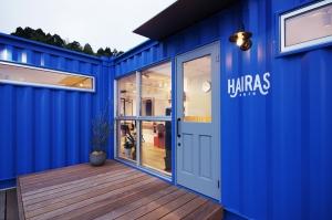 石川県 七尾市 HAIRAS | 美容室 店舗 施工