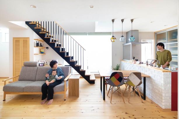 『暖かい暮らし』 にこだわった 夫婦が暮らす家