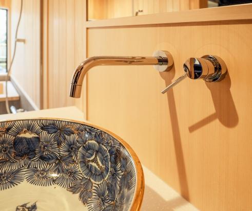 洗面器と水洗