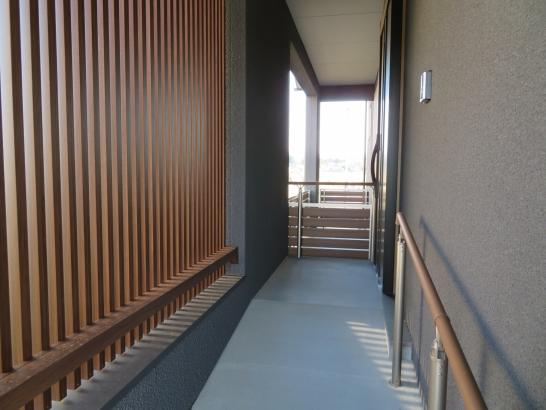 スロープ付き玄関