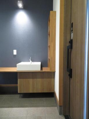 ペット用手洗いカウンター付き 玄関