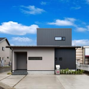 平屋風の和モダンテイストのモデルハウスが小松市内に完成しました。