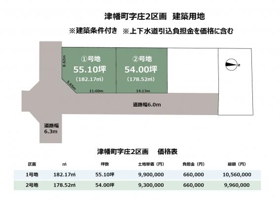 人気の津幡町に新しい住宅用地の登場です♬ 全4区画の新しい造成地なので若いパパママもコミュニティが築きやすくお勧めです!