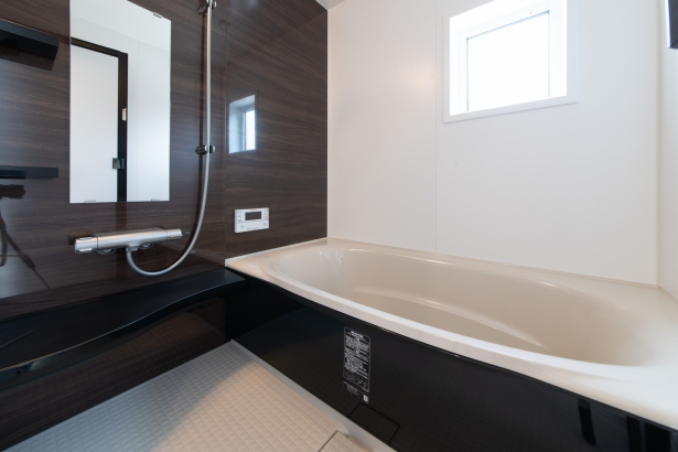 ゆっくり浴槽につかれるお風呂