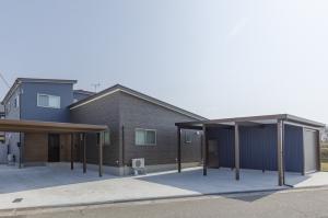 完全分離の二世帯住宅