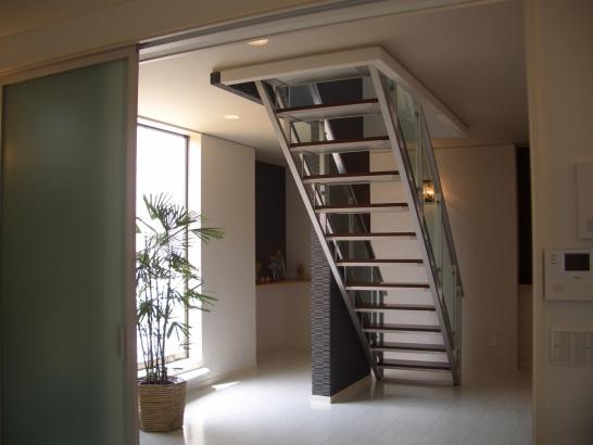 アルミ階段