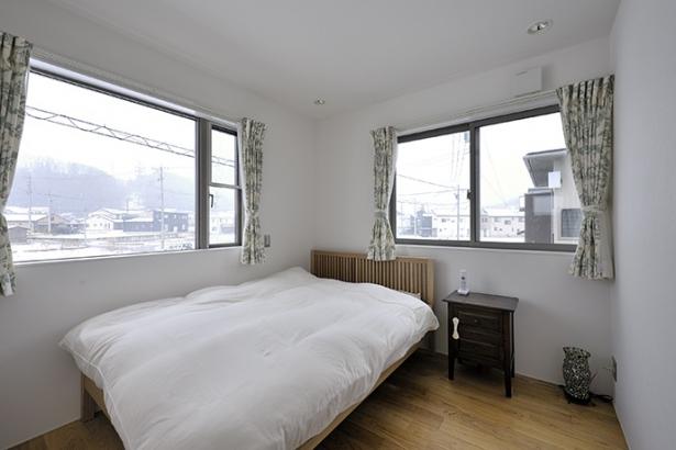2階の東側にある寝室