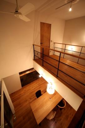 2階フロア吹き抜け