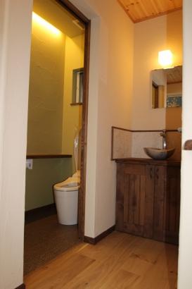 トイレ、手洗いスペース