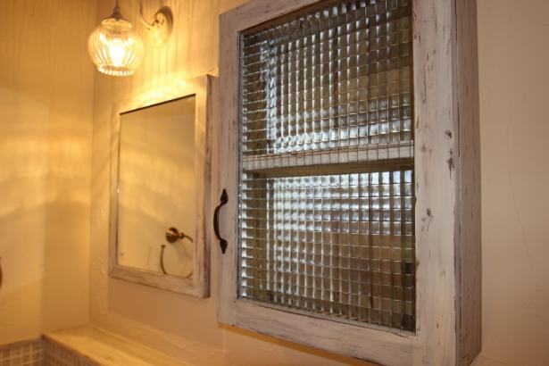 2階造作洗面