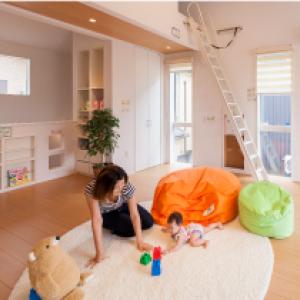 キッズデザイン賞8年連続受賞! 子供が安心してのびのび成長できる暮らし。