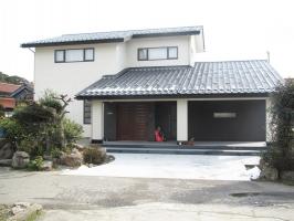 古材再利用新築住宅
