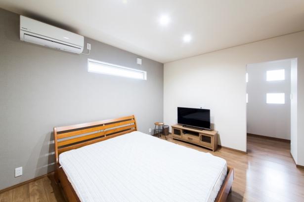 石川県 注文住宅 マイホーム施工事例 寝室