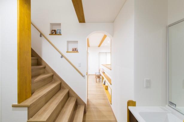 石川県 注文住宅 マイホーム施工事例 階段