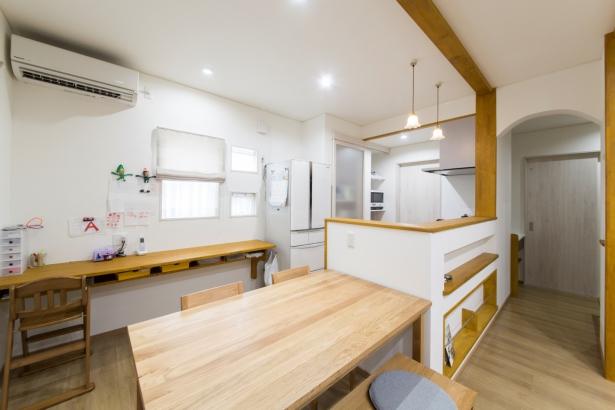 石川県 注文住宅 マイホーム施工事例 ダイニングキッチン