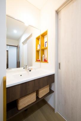 石川県 注文住宅 マイホーム施工事例 洗面化粧台