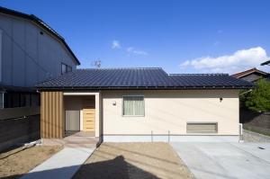 石川県小松市の自然素材でつくった平屋の家
