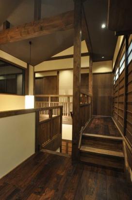古民家空間を新築で提案するという発想「樂家樂座」