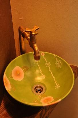 一棟一棟オリジナルの手洗鉢