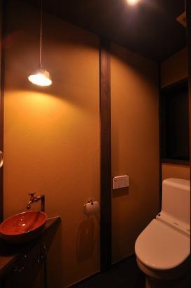 懐かしい雰囲気のトイレ