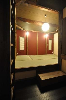 こあがりの寝室