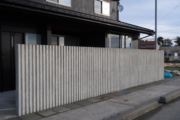 立体的コンクリート擁壁