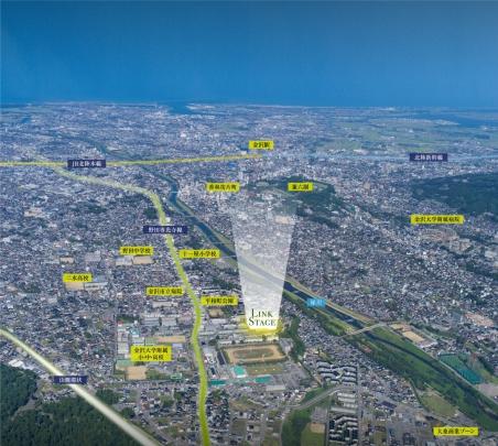 【LINK STAGE】 金沢市平和町分譲地(全27区画) 第1期20区画販売済、第2期7区画 販売スタート。 販売状況等、詳しくは当社HPにて。