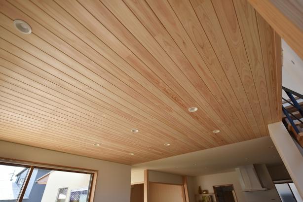 檜羽目板天井