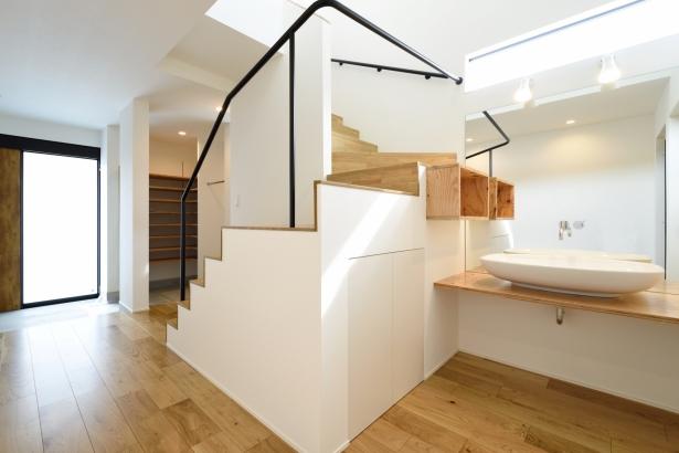 石川県金沢市 注文住宅 新築一戸建て 洗面化粧台