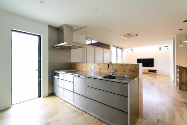 石川県金沢市 注文住宅 新築一戸建て キッチン