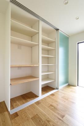 石川県金沢市 注文住宅 新築一戸建て 収納スペース