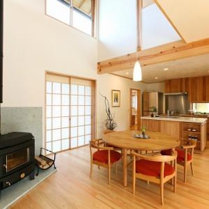 常設モデルハウス 「木組みの家」 永く住み継げる美しい木の家