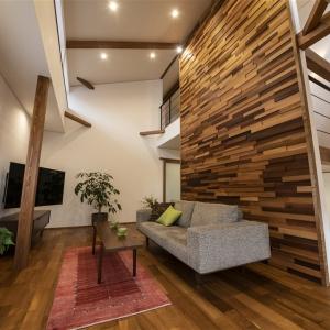 分譲モデルハウス 「新保本モデルハウス」 居心地と質感にこだわった本物の家