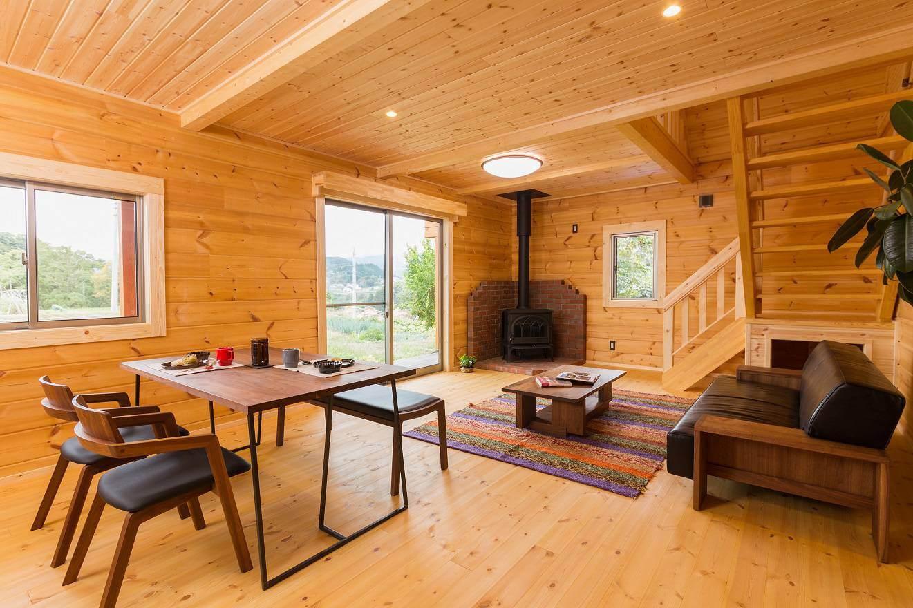金沢市のログハウス・自然素材の家 エバーウッドホーム株式会社