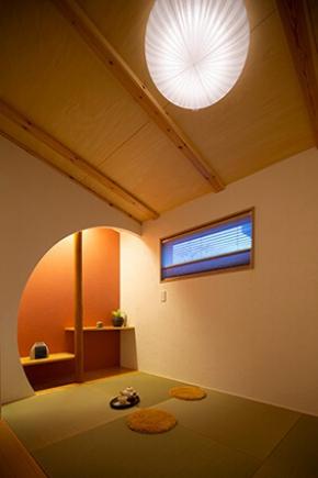 クラード建築設計事務所  ⊂ 床下エアコン1台で皆適