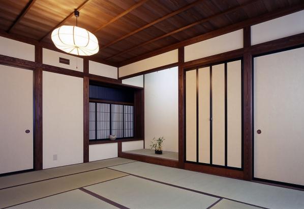 富山木の家_和室