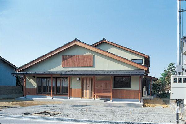 富山市 木の家 北岡工務店 外観