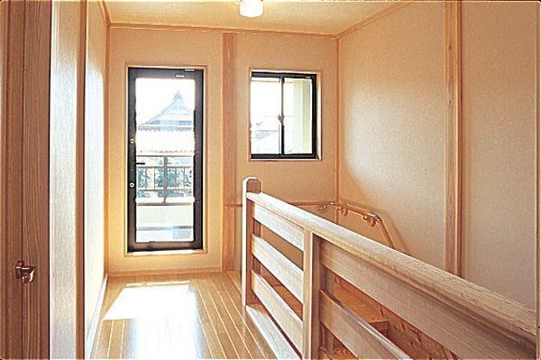 階段 富山市木の家 北岡工務店