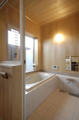 浴室 富山木の家 北岡工務店